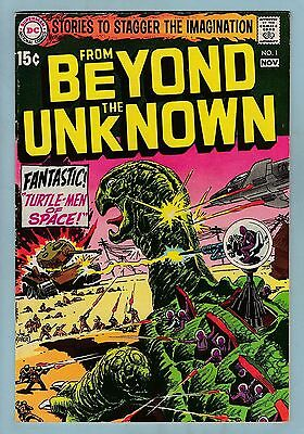 From Beyond The Unknown # 1 Fn (6.0)  Dc - Sci-Fi - Nice Mid Grade - Cents