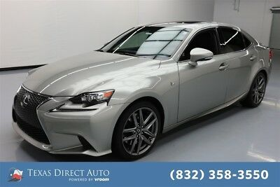 2015 Lexus IS  Texas Direct Auto 2015 Used 3.5L V6 24V Automatic RWD Sedan Premium