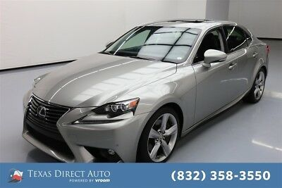 2015 Lexus IS  Texas Direct Auto 2015 Used 3.5L V6 24V Automatic AWD Sedan Premium