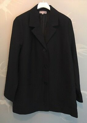 Vertbaudet Colline Maternity  Jacket ~Black~ Size Uk 18 Eu 46