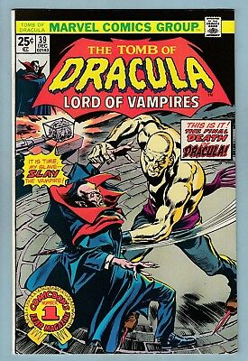 Tomb Of Dracula # 39 Vfnm (9.0)  Glossy High Grade Cents Copy - Marvel - 50% Off