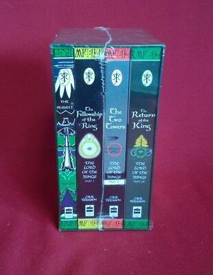 JRR Tolkien The Lord of the Rings & The Hobbit Book Set - Ted Smart SEALED