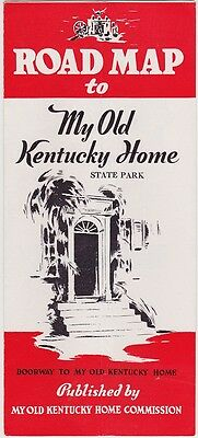 1950's My Old Kentucky Home State Park Brochure