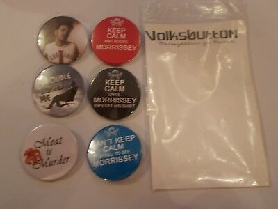 The Smiths Morrissey Badge Pack X6