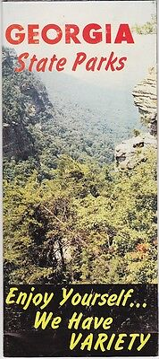 1960's Georgia State Parks Promotional  Brochure