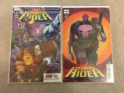 Cosmic Ghost Rider #3 - First Print Main Cover & Second Print Variant - Marvel