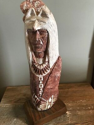native american alabaster sculpture