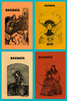 NAGINATA: The Women Warriors Magazine, four issues