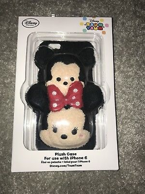 Disney Store Mickey Mouse & Minnie Mouse Phone Case iPhone 6 Tsum Tsum