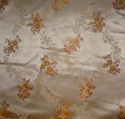 NEW AUTUMN STOCK ANTIQUE/VINTAGE FRENCH SILKY BROCADE c1920s-30s, projects 145.