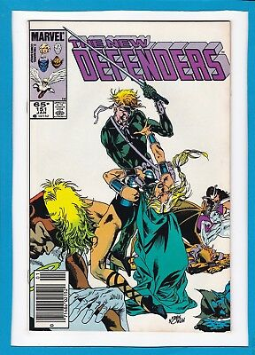 The New Defenders #151_January 1986_Nm Minus_Angel_Beast_Iceman_Moondragon!