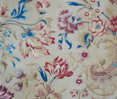 EXQUISITE 19th CENTURY FRENCH LINEN & COTTON, c1870s PROJECTS REF 140