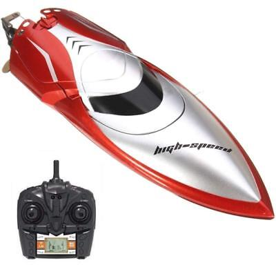 Haktoys HAK606 New 2018 High-Speed 2.4GHz Futuristic RC Boat with Capsize...
