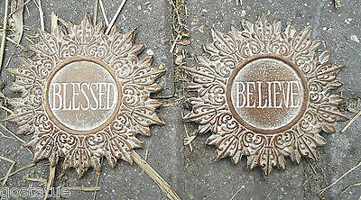 Blessed believe Plaster cement resin plastic molds see 5000 molds in my store