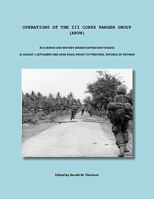 Operations Of The 3Rd Corps Arvn Ranger Group-Opertion Toledo-1968