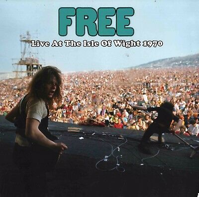 FREE Live At The Isle Of Wight 1970 LP great audio NOT UK pink Island VINYL mint