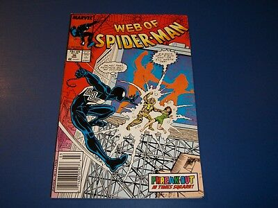 Web of Spider-man #36 1st Tombstone Fine+ Beauty Wow