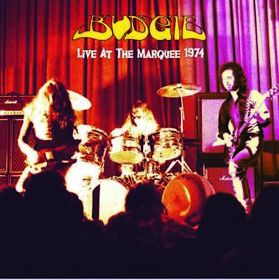 BUDGIE Live At The Marquee 1974 LP JUDAS PRIEST best quality ever! VINYL mint