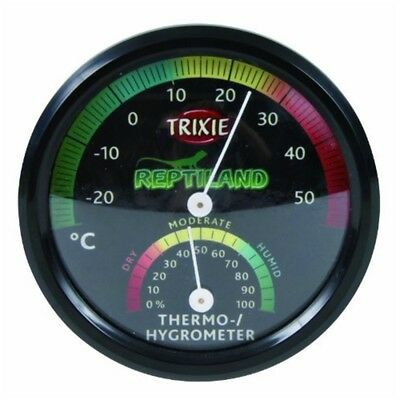 Thermo/hygrometer, Analogue - Hygrometer Reptile Thermo New Terrarium