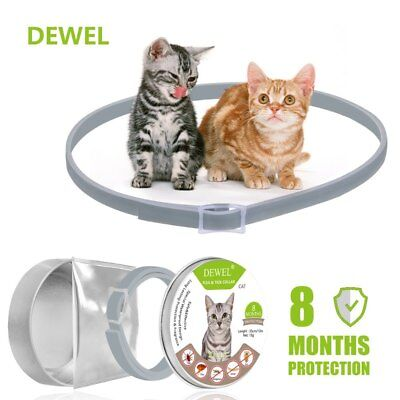 Bayer Seresto0 Flea and Tick Collar for small Cats, 8 Month Protection for Cat