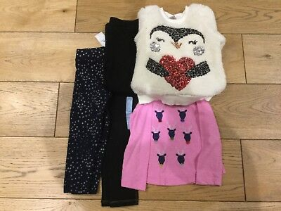 Girls festive/Christmas bundle age 2-3 years, tops, leggings & jeggings