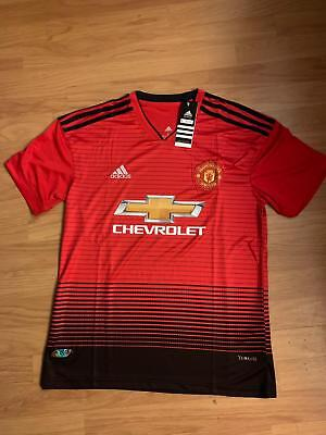 Manchester United  Jersey 2018-19 Home  High Quality Jersey