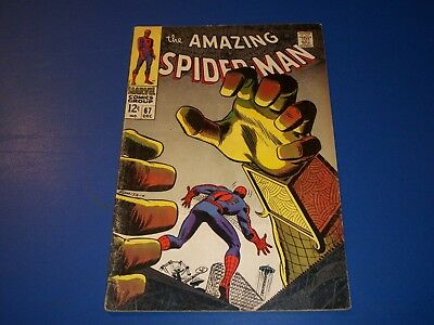 Amazing Spider-man #67 Silver Age Mysterio Key Solid VG