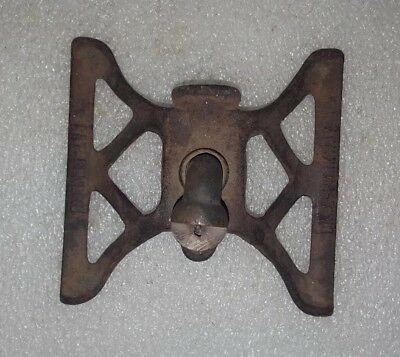 Extremely RARE * ANTIQUE Vintage DAHL PARKWAY CAST IRON SPRINKLER * Pat. Pending