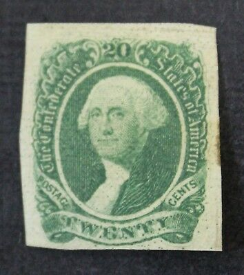CKStamps:US Confederate States Stamps Collection Scott#13 Unused NG Light Crease