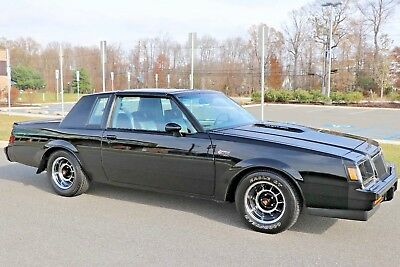1986 Buick Grand National Turbo Hardtop 1986 BUICK GRAND NATIONAL 9K ACTUAL MILES TIME CAPSULE COLLECTOR MINT NO RESERVE