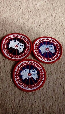 Canada Goose x3 badges free uk post 2.5 inch job lot patches uk seller