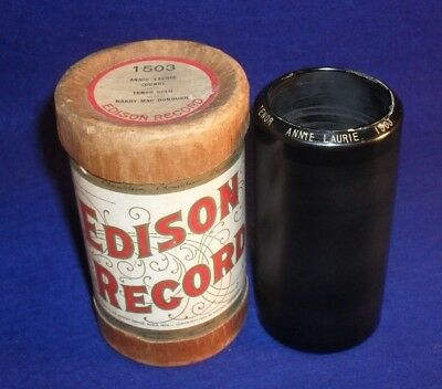 Edison 2 Minute Wax Cylinder Record # 1503 ANNIE LAURIE - HARRY MAC DONOUGH
