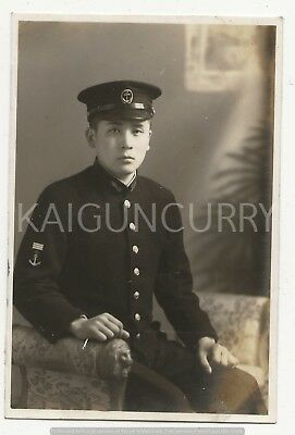 Original Wwii Japanese Photo: Navy Officer, Signed!!