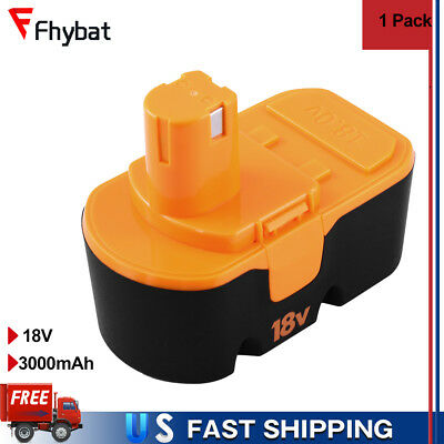 1x Replace Battery 3Ah for Ryobi 130255004 ABP1801 ABP1803 Drills 18v Nailer New