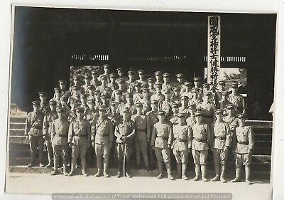 Original Wwii Photo: China War Soldiers!!