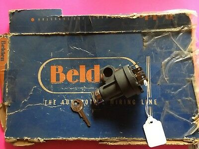1955, 1956, Chevrolet Ignition Switch Genuine Delco Remy