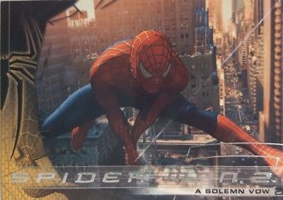 SPIDER - MAN 2 MOVIE Trading Card Set of 70 Upper Deck 2004
