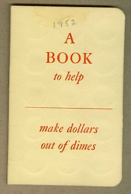 Western Federal S&L Chicago Il. Dime Savings Book W/ 30 Barber/Mercury Dimes