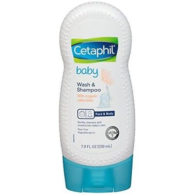 Cetaphil Baby Wash and Shampoo with Organic Calendula, 7.8 Ounce