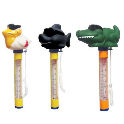 Floating Swimming Pool Hot Tub Thermometer Water Temperature Tester 3 Shapes