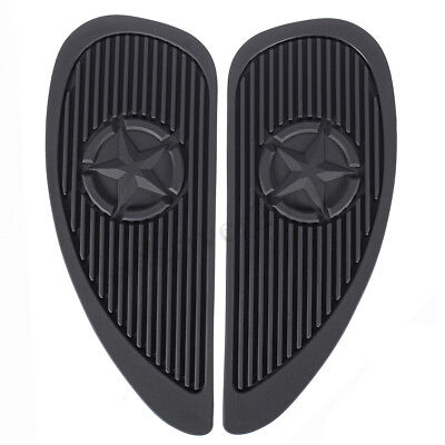 2X Universal Motorcycle Tank Traction Pad Side Gas Knee Grip Protector