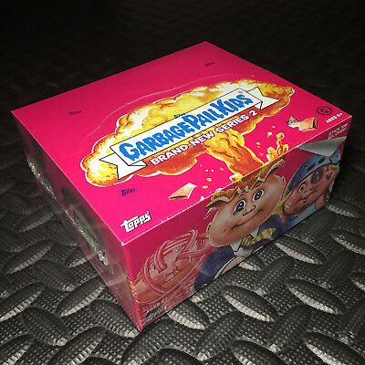 Garbage Pail Kids Bns2 New/sealed Hobby Box 2013 Brand-New Series 2 Case-Fresh!