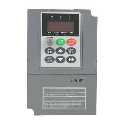 1.5KW 380V 3.8A Universal Three- Phase Variable Frequency Drive Converter gbd