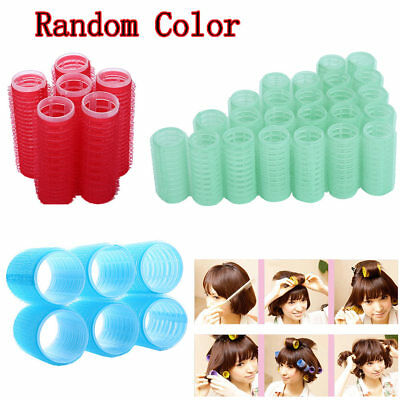 DIY Hair Salon Curlers Rollers Tool Soft Large Hairdressing Tools 24/18/12Pcs