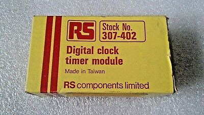 Digital Clock Timer Module (LED)  - VINTAGE RADIO SPARES ITEM - COLLECTABLE