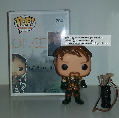 Once Upon A Time Custom Funko Pop - Robin Hood - Sean Maguire