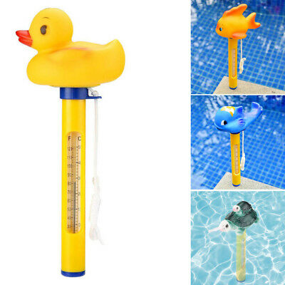 2pcs Pool&Spas Thermometer Floating Swimming Water Temperature W/ Rope