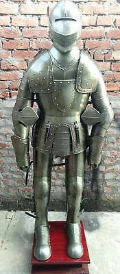 Medieval Knight Suit Of Templar Toledo Rare Style Plated Armor Warrior Combat