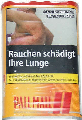 3x Pall Mall Volumen-Tabak allround Red 3x75g=225g Box  Preis  15,95€