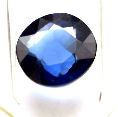 8.40 Ct Ggl Certified Oval Cut Natural Ceylon Violet Blue Sapphire Gems
